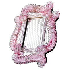 20th Century Venetian Crystal Mirror, 1910