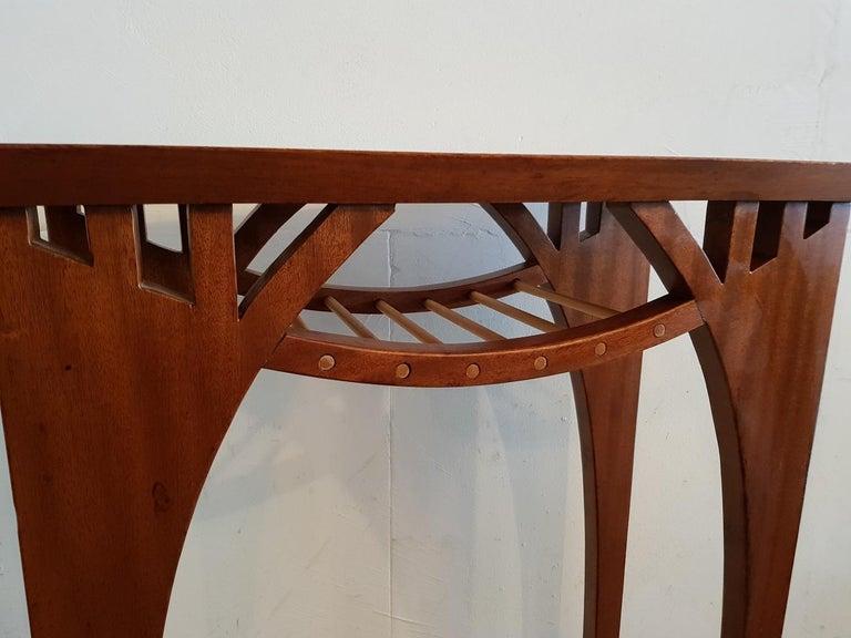Mid-Century Modern 20th Century Vintage Design Teak Wood Side Table For Sale