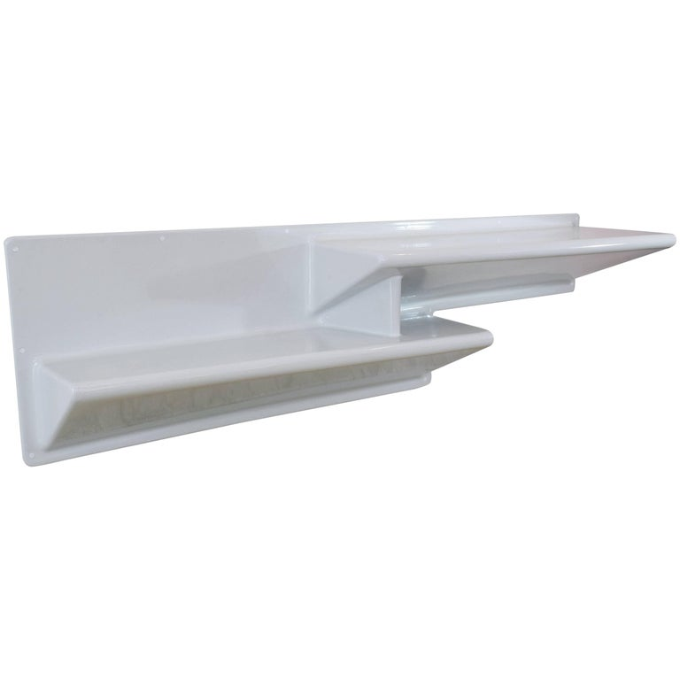 20th Century Vintage Fiberglass Hanging Console or Desk by Knoll, 1970s For Sale