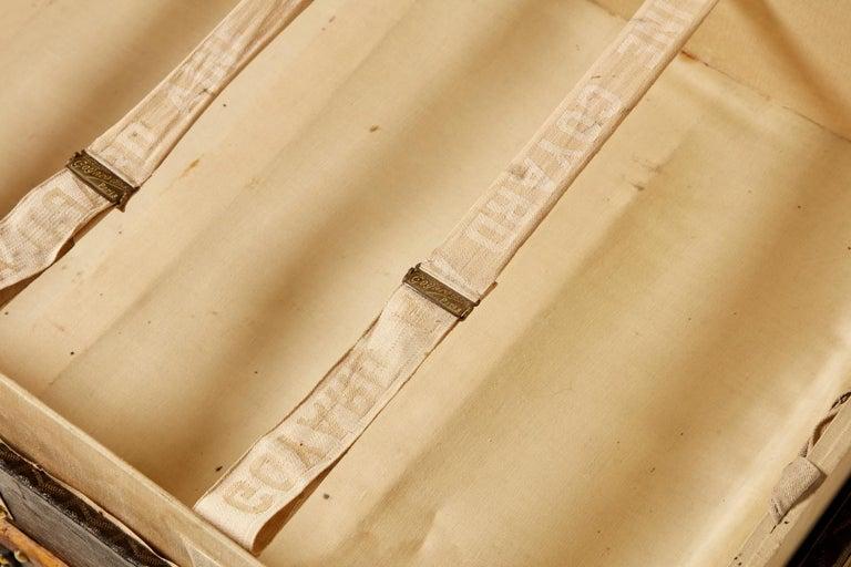 20th Century Vintage Goyard Trunk, circa 1920-1930 For Sale 6