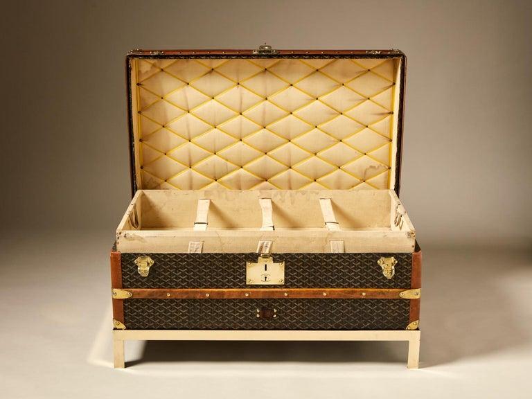 Other 20th Century Vintage Goyard Trunk, circa 1920-1930 For Sale