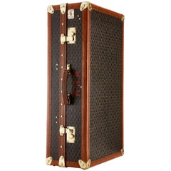 20th Century Vintage Goyard Wardrobe Trunk, French, circa 1930-1935