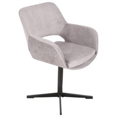 20th Century Vintage Grey Swivel Armchair, 1960s