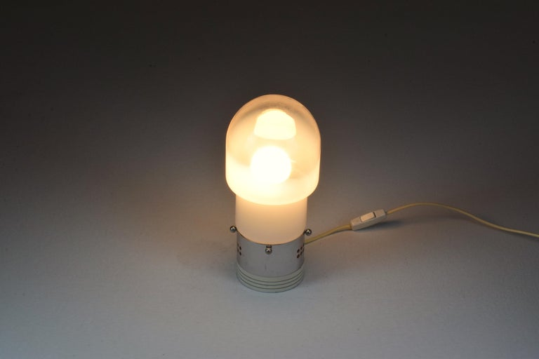 20th Century Vintage Italian Table Lamp by Carlo Nason for Mazzega, 1970s For Sale 6