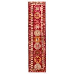 20. Jahrhundert Vintage Türkischer Anatolischer Läufer Teppich