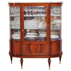 20th Century Vitrine in Louis XVI-Style