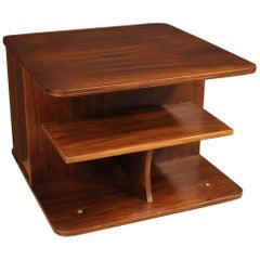 20th Century Walnut and Palisander Wood Italian Design Coffee Table, 1970