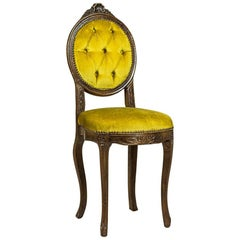 20th Century Walnut Lady's Vanity Chair