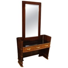 Wood Pier Mirrors and Console Mirrors