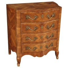 20th Century Walnut Wood French Chest of Drawers, 1970