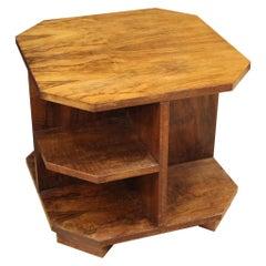 20th Century Walnut Wood Italian Design Coffee Table, 1960