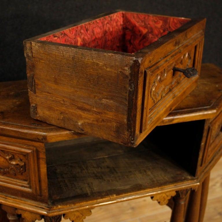 20th Century Walnut Wood Italian Kneeling Stool, 1950 For Sale 1