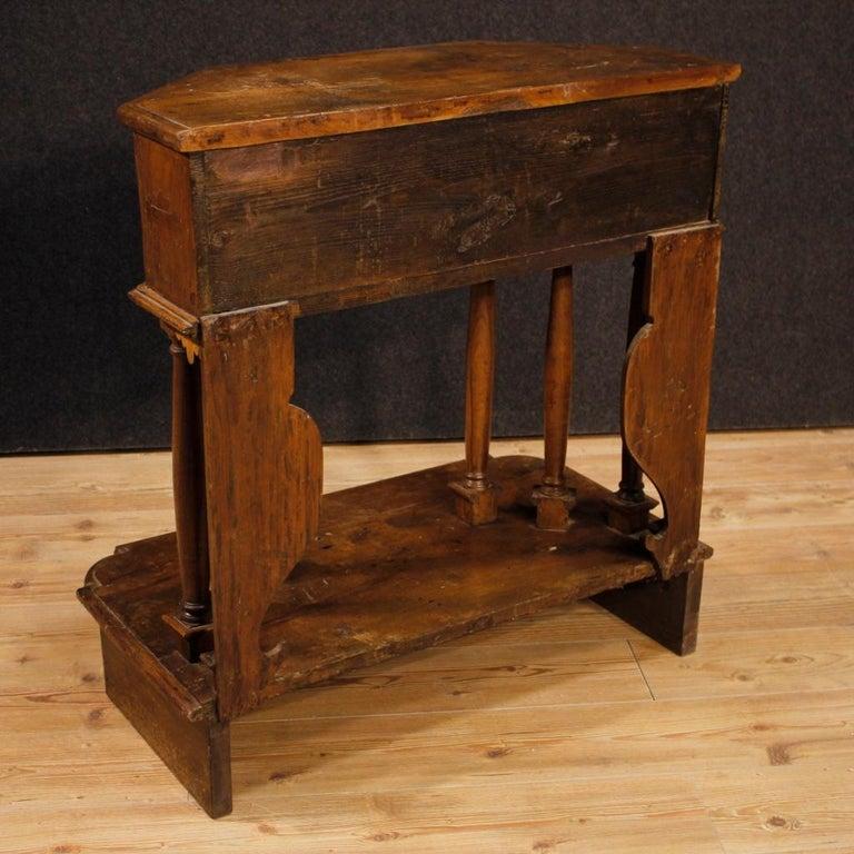 20th Century Walnut Wood Italian Kneeling Stool, 1950 For Sale 3