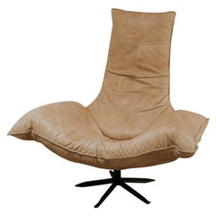 20th Century Wammes Swivel Chair by Gerard Van Den Berg for Montis