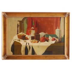 20th Century Wood Framed Oil / Canvas Painting