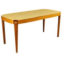 20th Century Wood Italian Gio Ponti Style Table, 1960