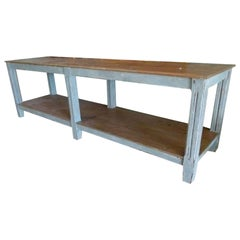 20th Century Wooden Counter