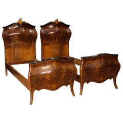 Pair Of Italian Tole Beds For Sale At 1stdibs