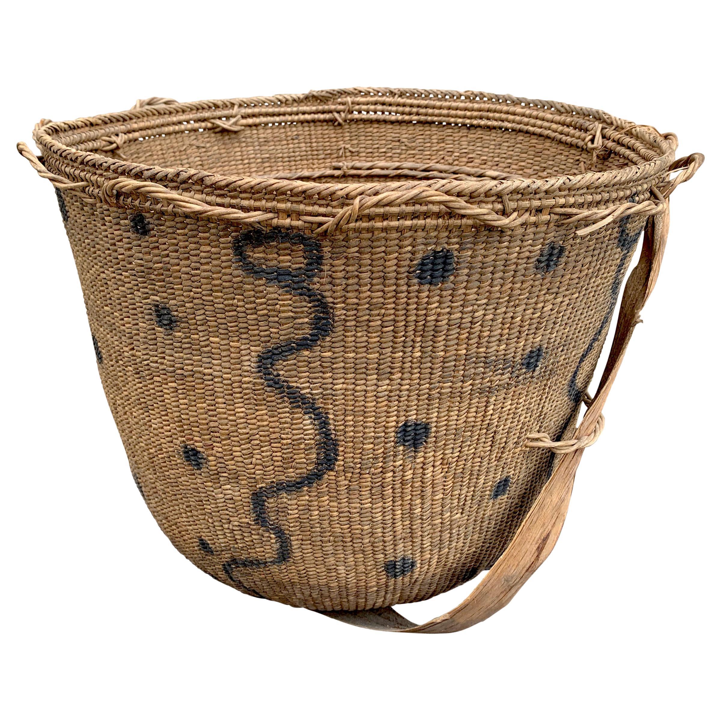 20th Century Yanomami Gathering Basket