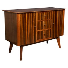 20th Century Zebra Wood Sideboard by Morris of Glasgow, c.1950