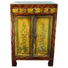 20th Small Chinese Piece of Furniture in Lacquered Wood