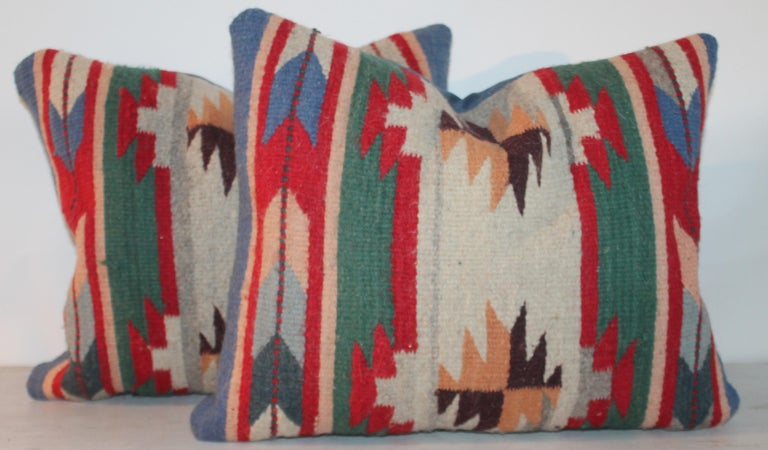 Adirondack 20th Century Indian Weaving Pillows For Sale
