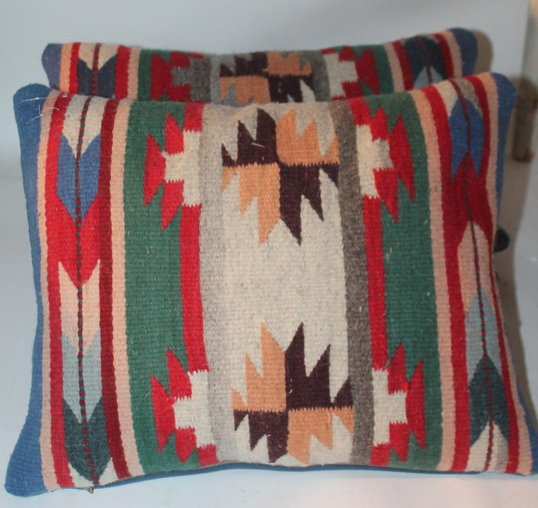 Hand-Crafted 20th Century Indian Weaving Pillows For Sale