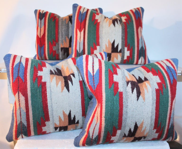 20th Century Indian Weaving Pillows In Good Condition For Sale In Los Angeles, CA