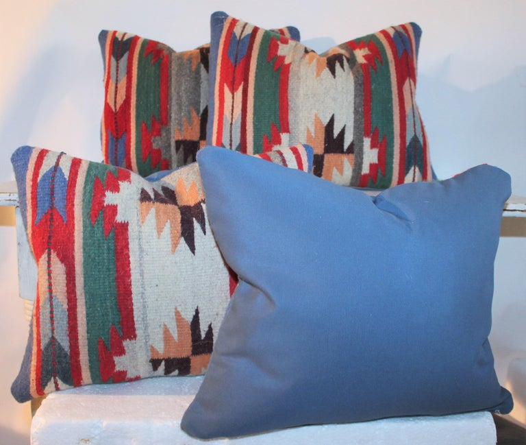 Wool 20th Century Indian Weaving Pillows For Sale