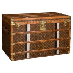 20th Century Louis Vuitton Cabin Trunk in Monogrammed Canvas, Paris, circa 1910