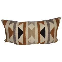 20thc Navajo Indian Weaving Bolster Pillow