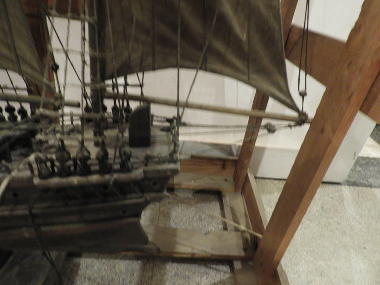 20th Century Scale Model Sailing Boat For Sale 1
