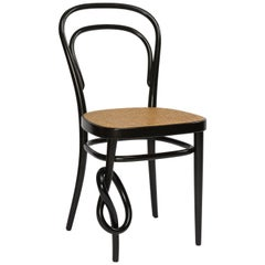 214 Knotted Chair, Thonet Studio, Thonet, Austria