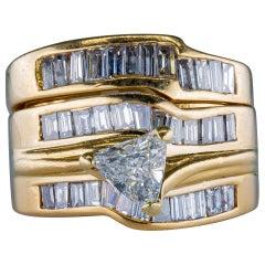 2.15 Carat Diamond Ring 14 Karat Gold