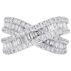 2.17 Carat Diamond X-Ring