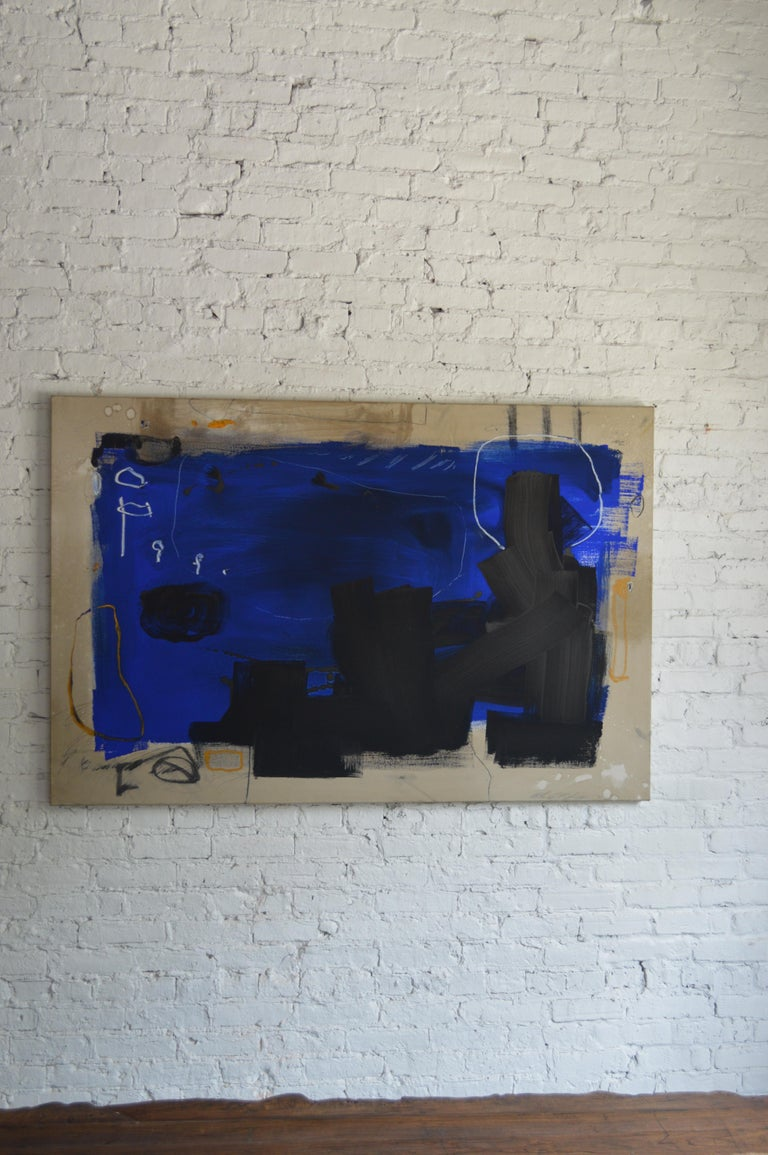 American 21st Century Abstract Painting by William McLure For Sale