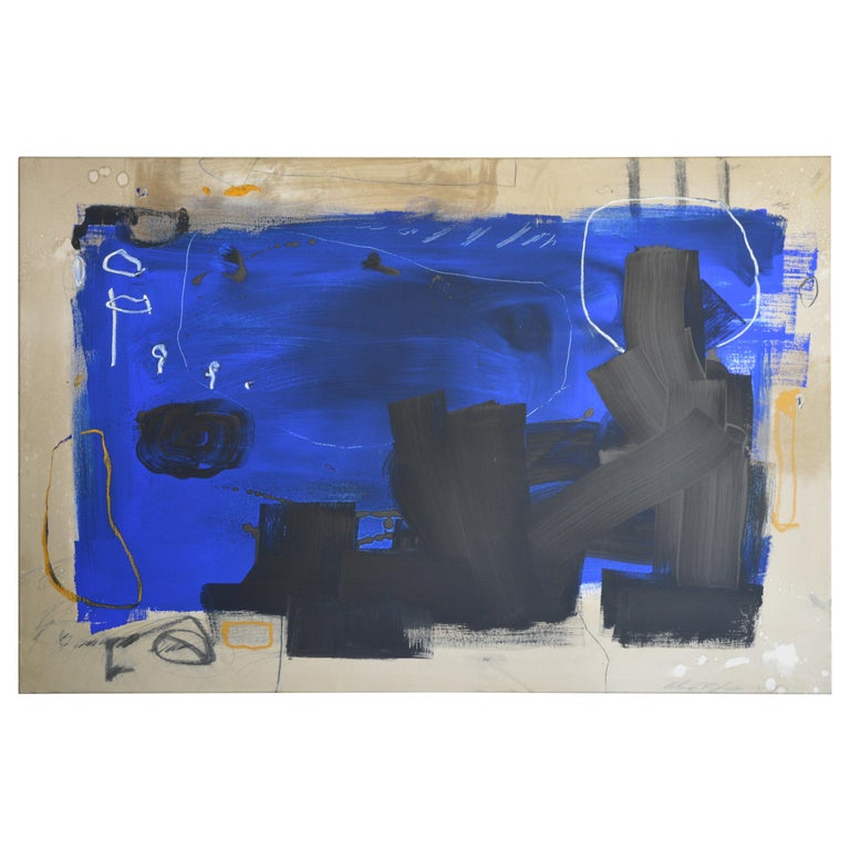 21st Century Abstract Painting by William McLure For Sale