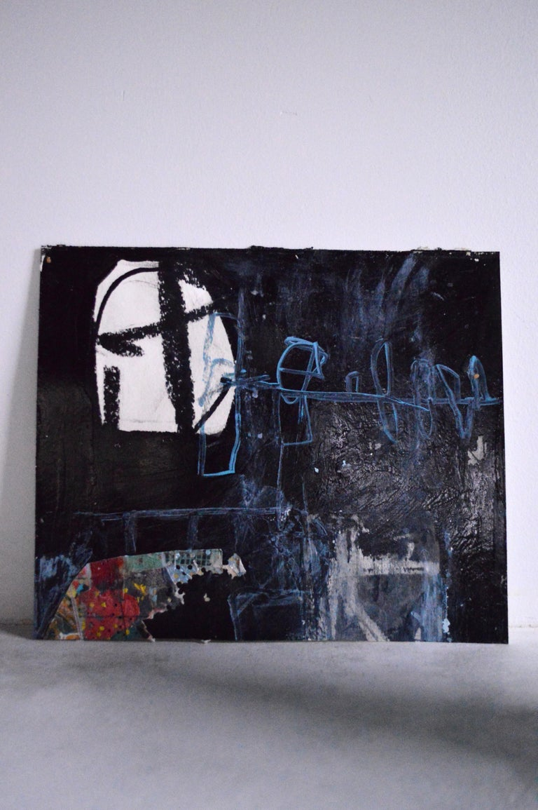 21st Century Abstract Painting/Mixed-Media Work by Greg Dickerson For Sale 5