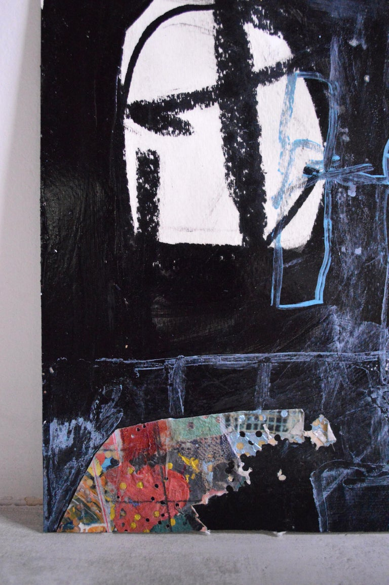 American 21st Century Abstract Painting/Mixed-Media Work by Greg Dickerson For Sale