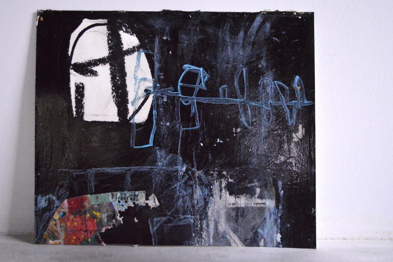 Fabric 21st Century Abstract Painting/Mixed-Media Work by Greg Dickerson For Sale