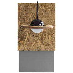 21st Century Adjustable Glass Sconce with Cane
