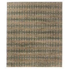 21st Century Aegean Green Handmade Wool Rug by Bunny Williams
