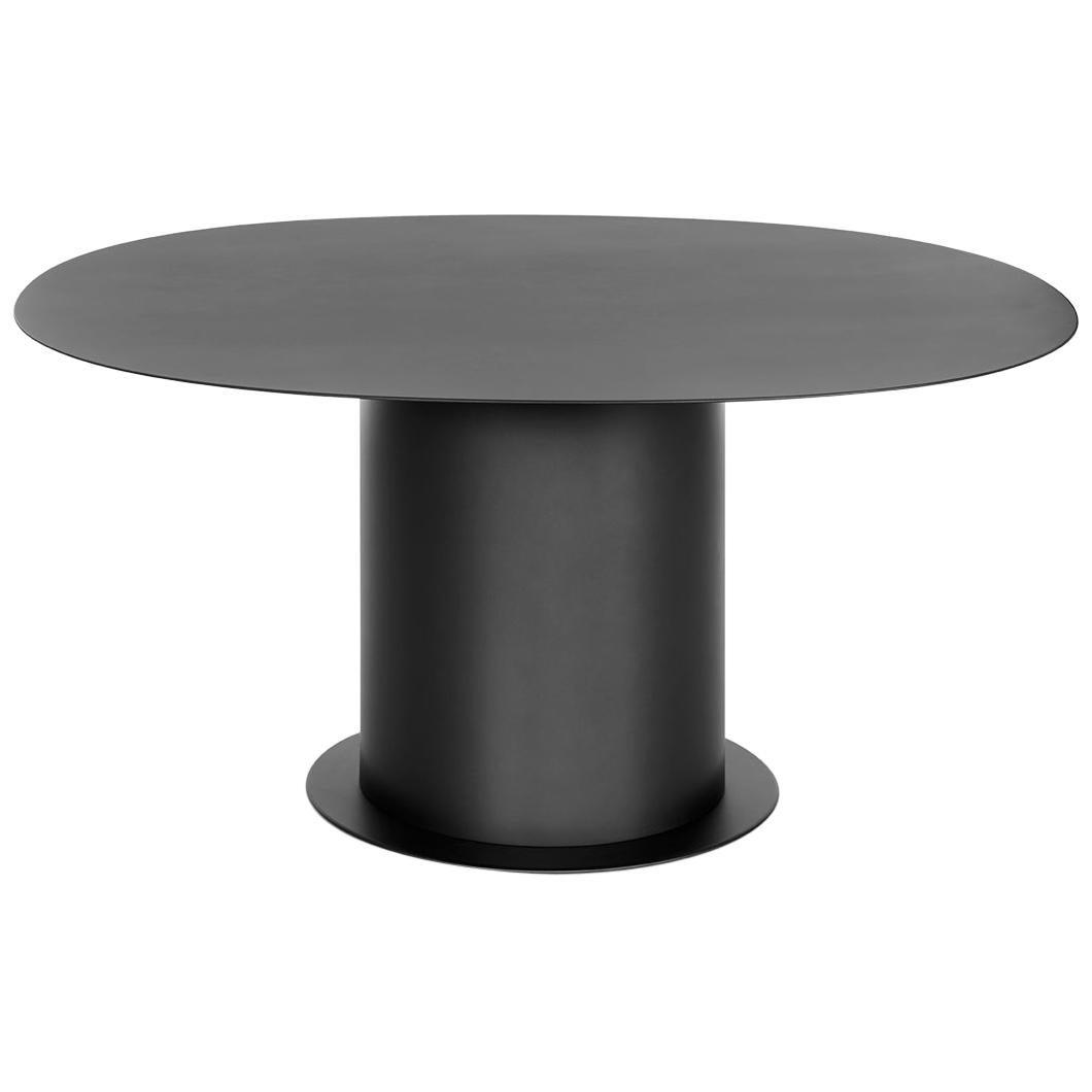 "FUCINA ""AFFOGATO"" by Cecilie Manz Symposia Collection, Black Matte Table"