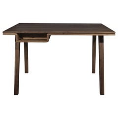 21st Century Aleister Desk Table Walnut Wood