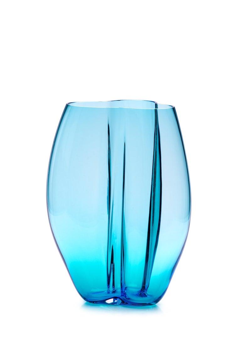 21st Century Alessandro Mendini Murano Glass Small Vase Various Colors In New Condition For Sale In Brembate di Sopra (BG), IT