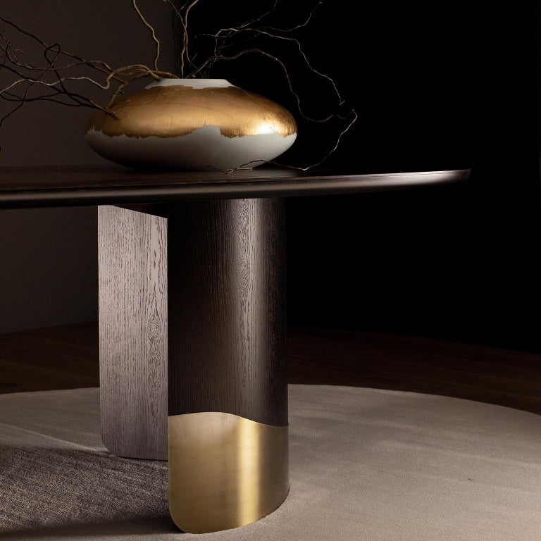 21st Century Modern Armona Dining Table Handcrafted Portugal by Greenapple  For Sale 5