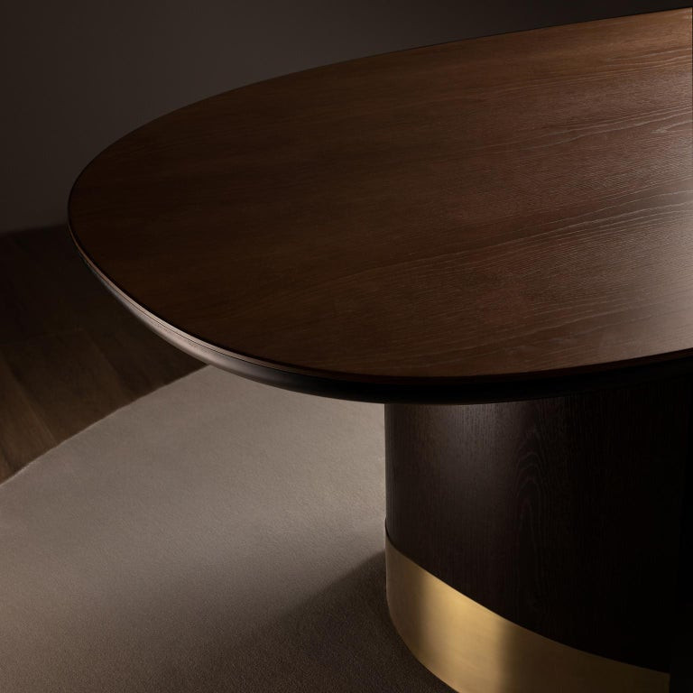 21st Century Modern Armona Dining Table Handcrafted Portugal by Greenapple  For Sale 7