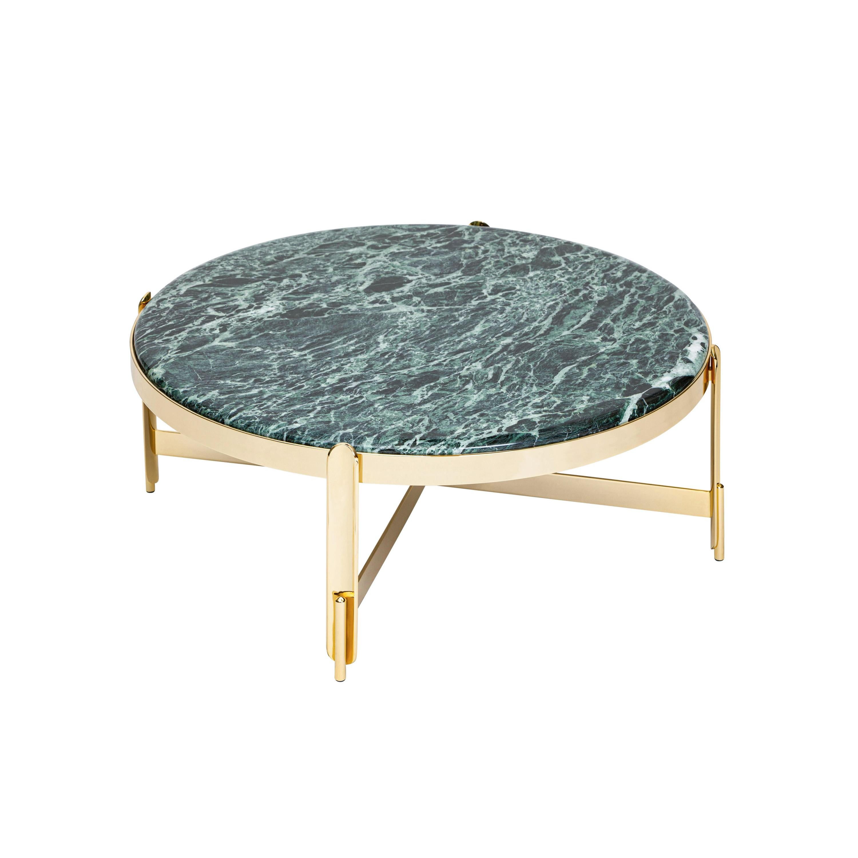 21st Century Art Deco Elie Saab Maison Green Alpine Marble M Coffee Table, Italy