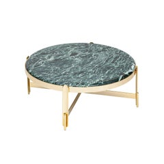 21st Century Art Deco Elie Saab Maison Green Alpine Marble M Coffee Table, Italy