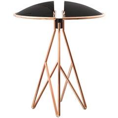 21st Century Beetle Table Lamp Brass Aluminium
